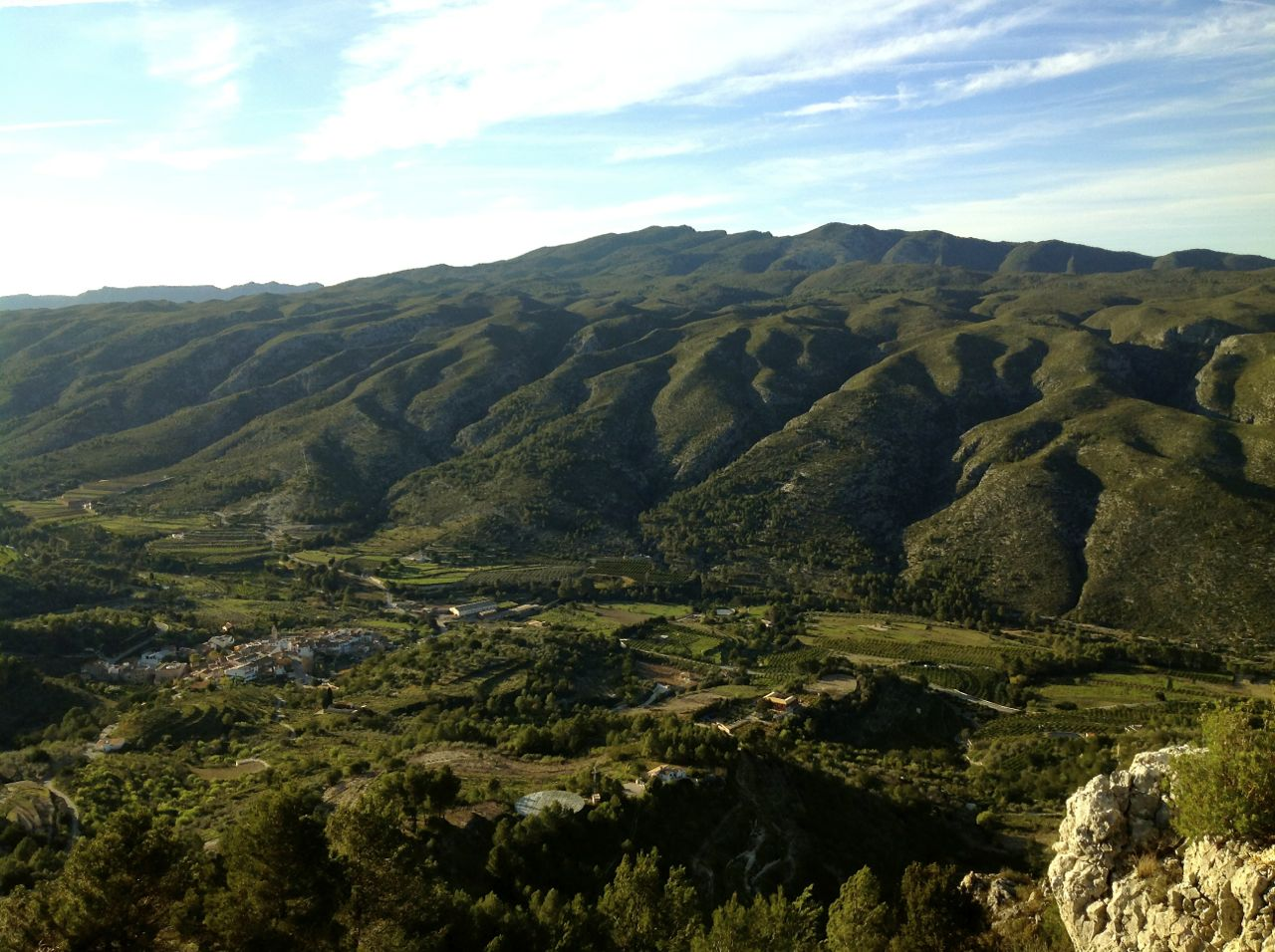 Benialí a resguardo de sus Sierras