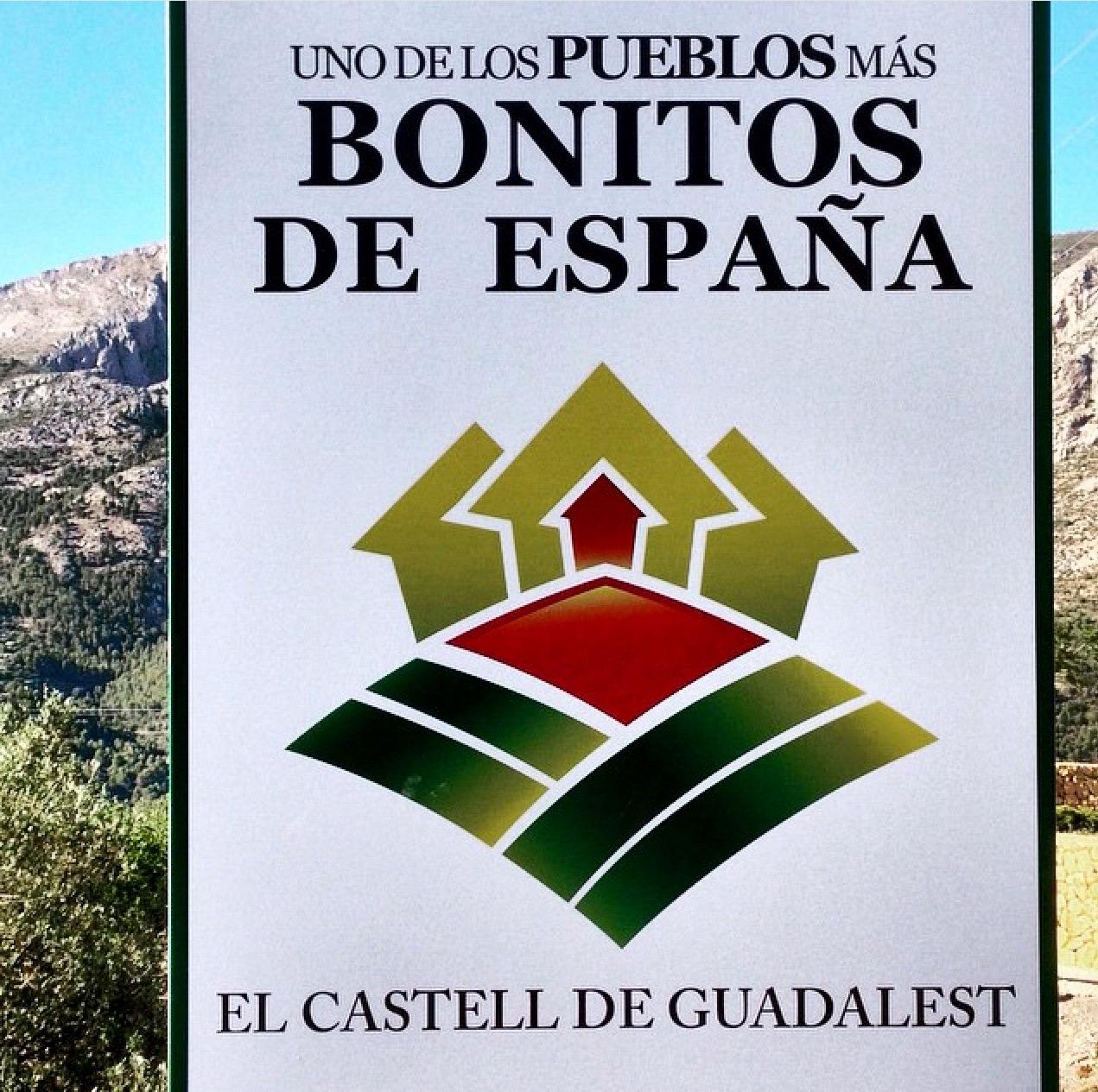Guadalest uno de los pueblos más bonitos de España.