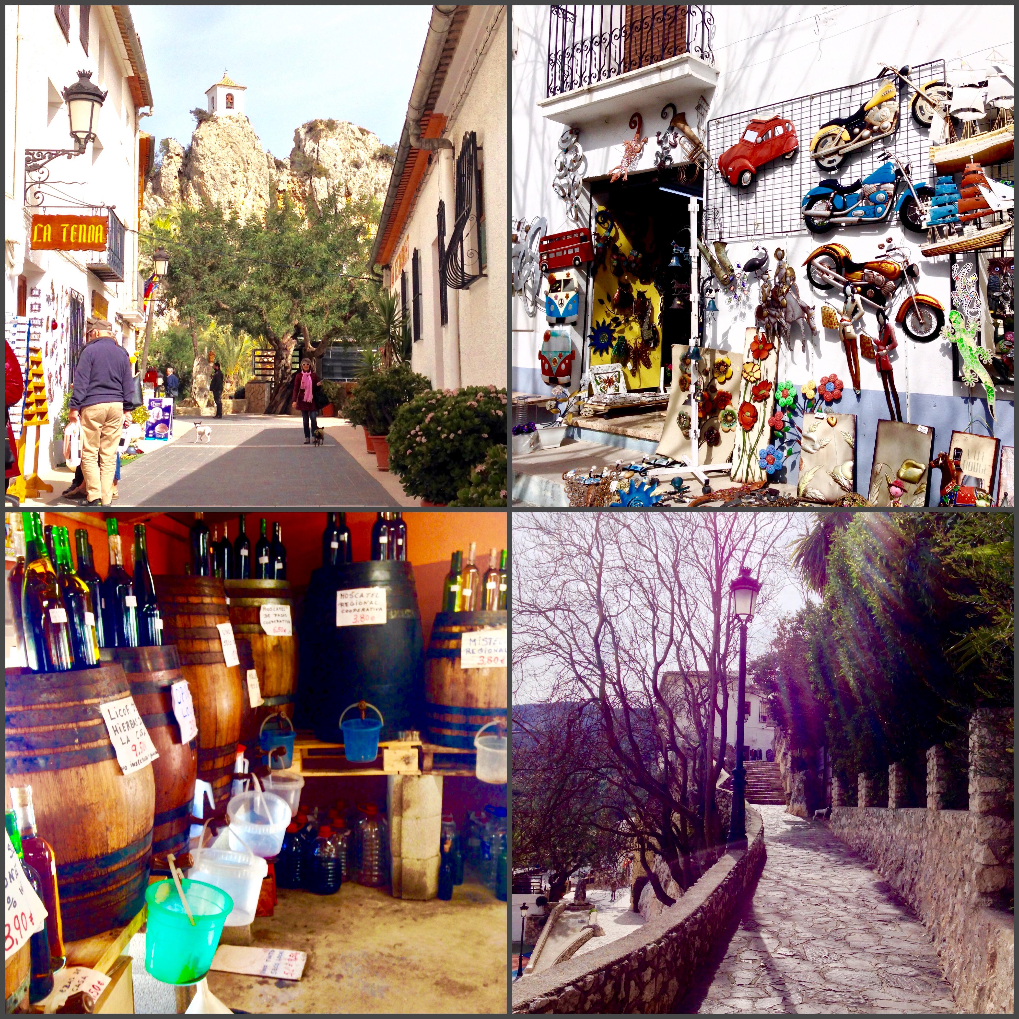Excursión a Guadalest.