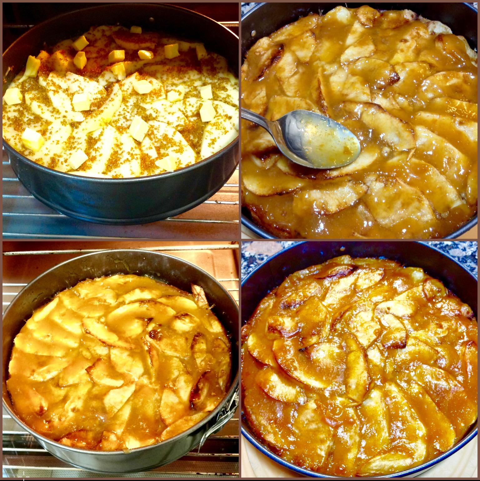 Tarta de manzana de mi Madre.