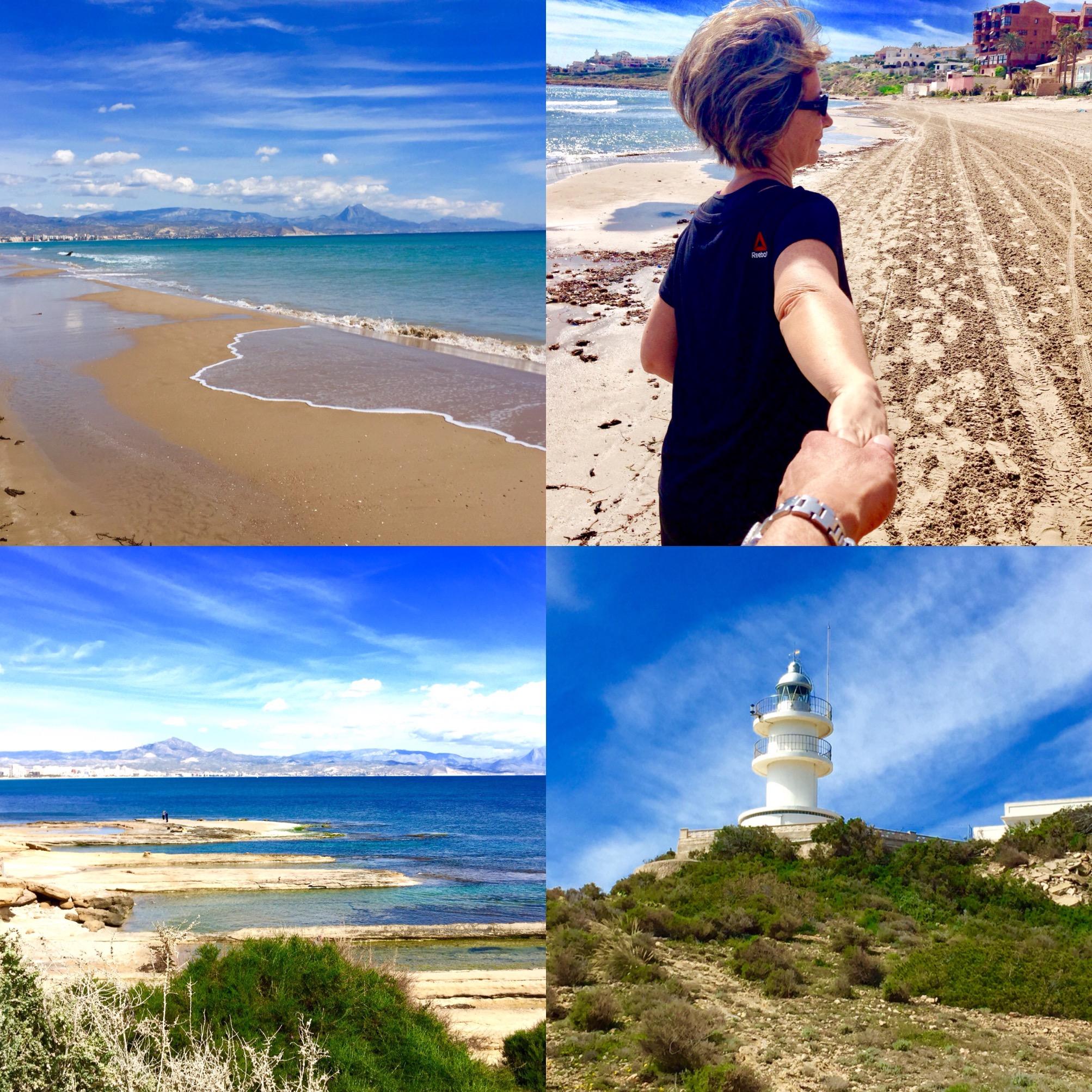 Ruta de Senderismo por la playa de San Juan y Cabo de las Huertas, Alicante