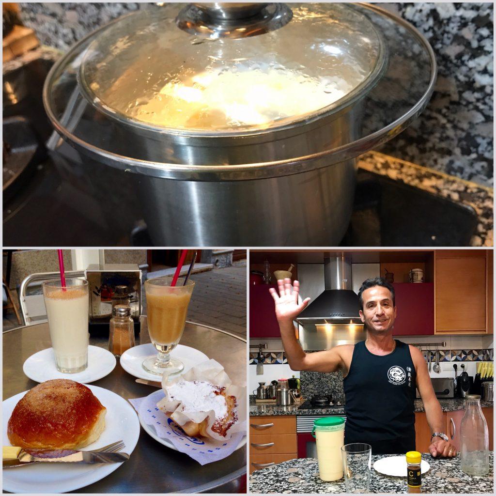 Receta leche preparada de Alicante.