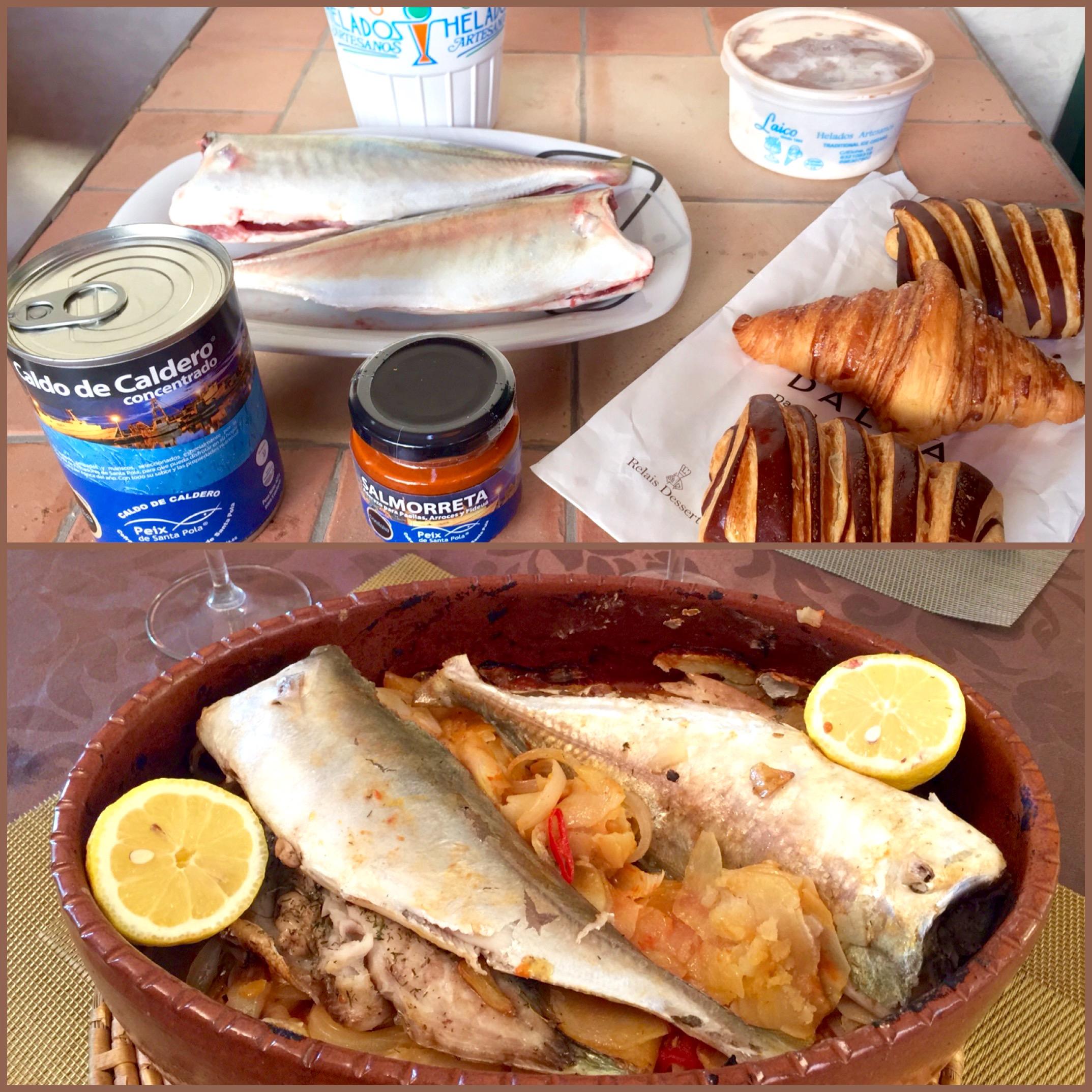 Comer y beber en Santa Pola.