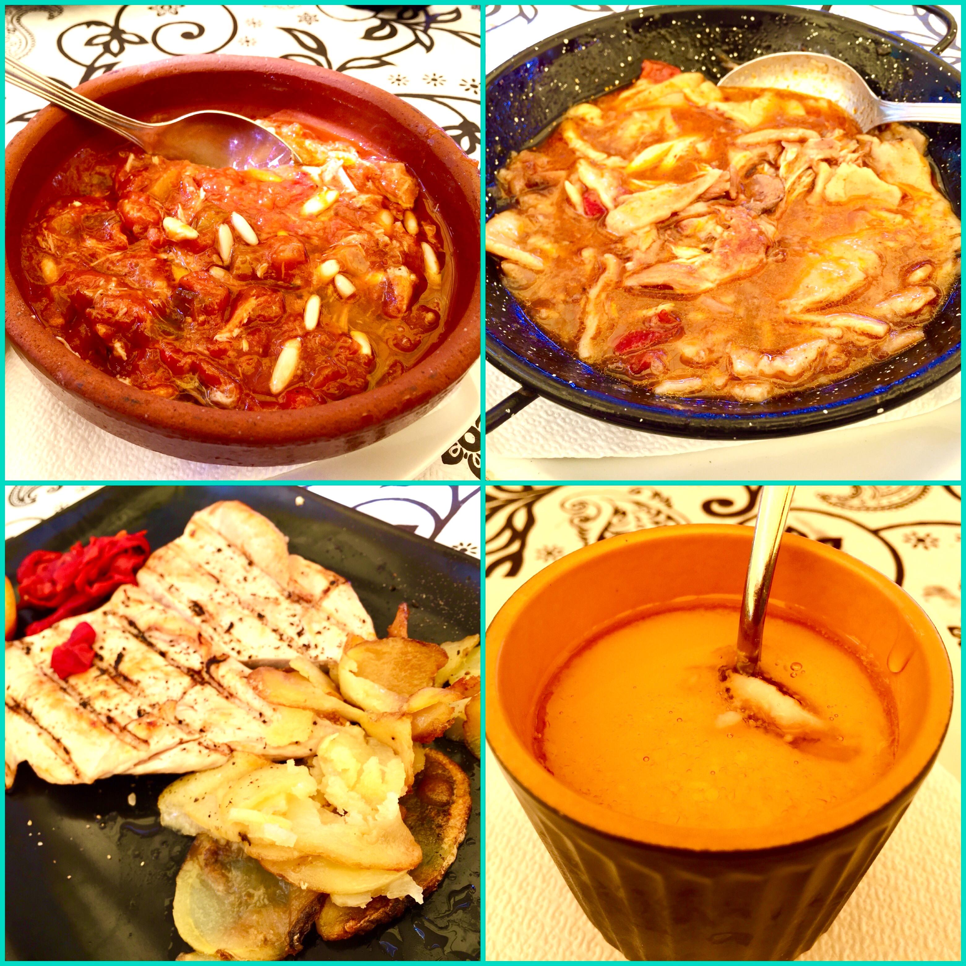 Gastronomía de La Mancheuela