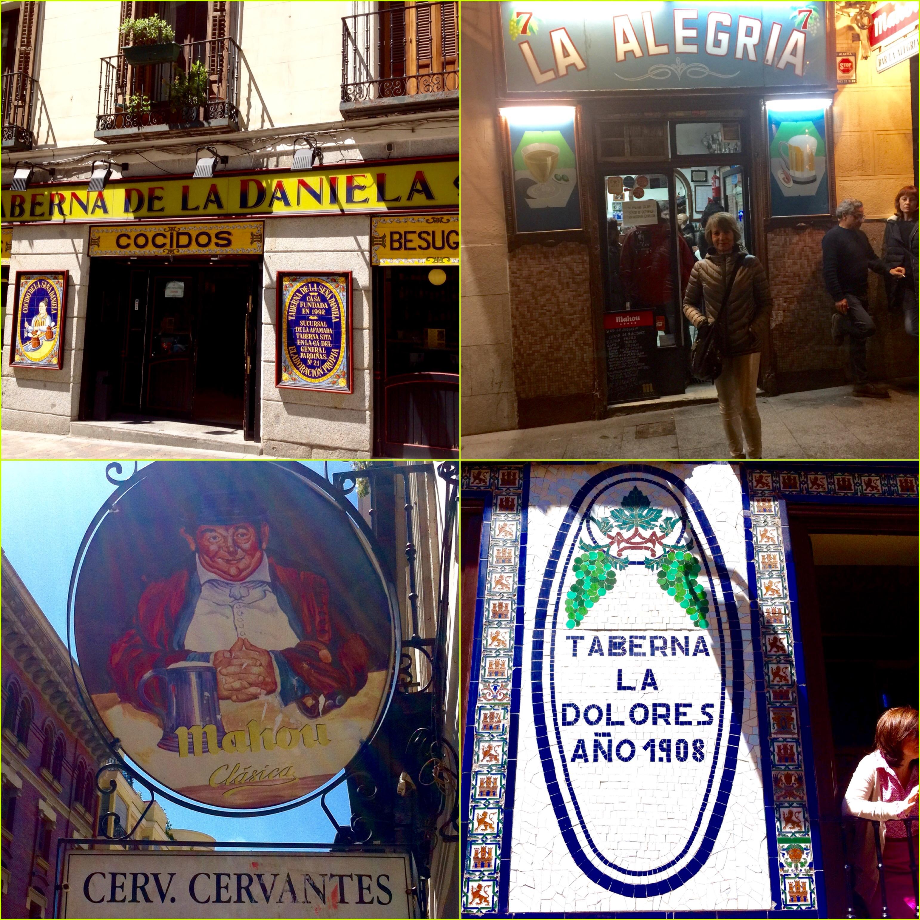 Casas de comidas y tabernas.