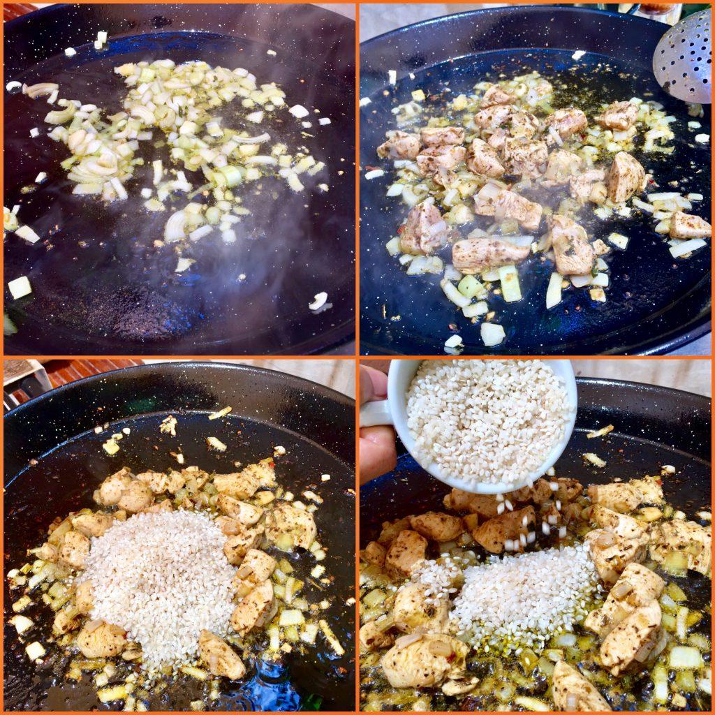 Un arroz exótico y mediterráneo.