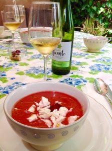 Gazpacho de cerezas de Alicante gourmet