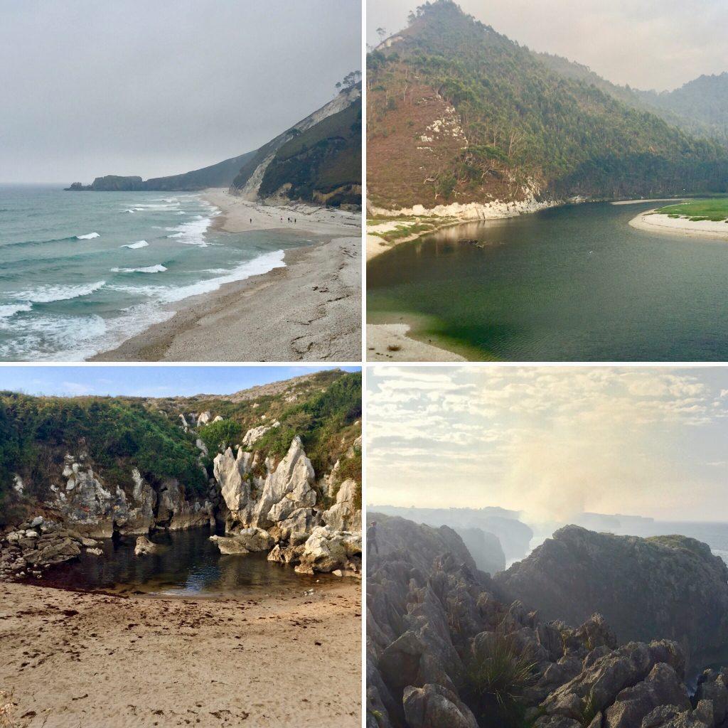 Playas cercanas de Llanes
