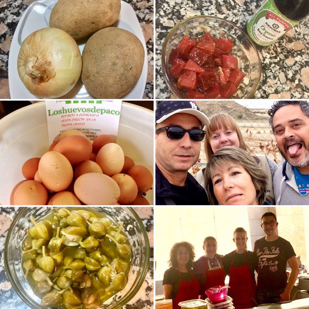 Los huevos mas ricos de la dieta mediterránea.