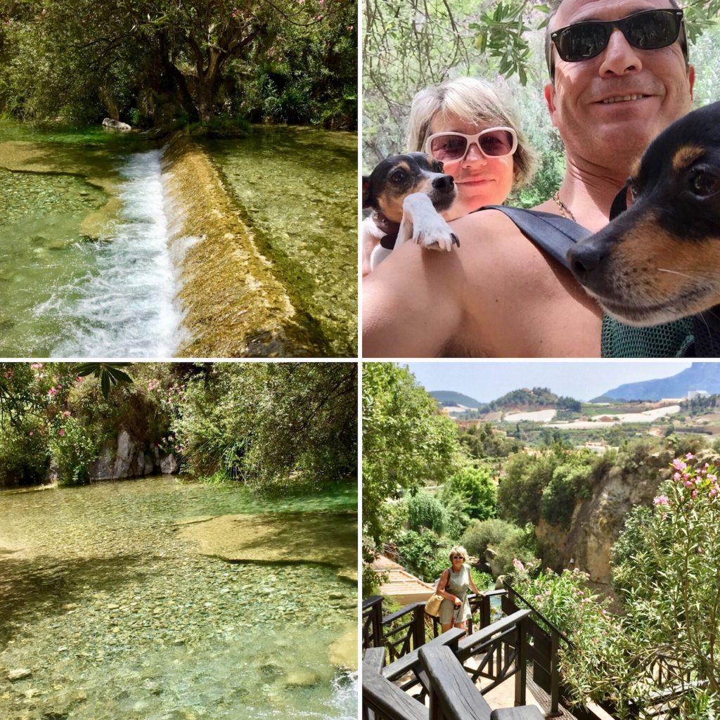 Excursión a las Fuentes de Algar, en Callosa de Ensarriá